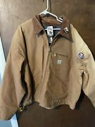 Vintage New Duck Detroit Lined Jacket Style Jo1 Sz 58 4xl Union Made Us