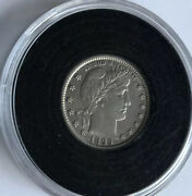 1899-o 25 Cent Barber Quarter Beautiful Coin Exact One Pictured