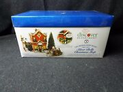 Dept. 56 2000 Snow Village Silver Bells Christmas Shop 56.55040 Small Flaw