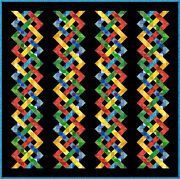 Howdy Doody - 109.5x 109- Quilt-addicts Pre-cut Patchwork Quilt Kit Large King