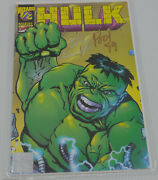 Hulk 1/2 Comic Book Wizard Magazine Exclusive Terry Kavanagh And Paul Lee Signed