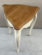 Vintage Ethan Allen Country French Triangle Occasional Table 26-8205 Finish 646