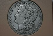 Genuine Key Date 1893-o Morgan Silver Dollar Extremely Low Mintage -only 300,000