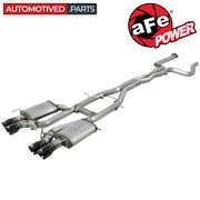 Afe 49-34078-b Mach Force-xp Cat Back Exhaust For 2016-and03919 Cadillac Ats V 3.6 V6
