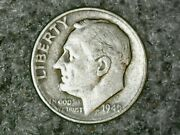 Andnbsp1946 D Roosevelt Dime 10c - Nice Old Coin - 90 Silver Us Dimeandnbspfree Shipping
