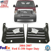 Bumper Bracket Left And Right Side For 2004-2007 Ford E-350 Super Duty