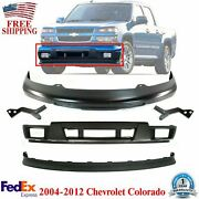 Front Primed Steel Bumper + Ext + Valance + Brackets For 04-2012 Colorado Canyon