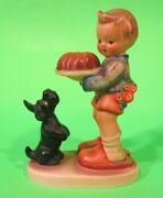 Gobble Hummel Figurine 9 Begging His Share Large 6.00 Tmk 1 Incised Crown