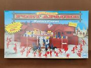 Fort Apache Western Play Set Louis Marx 4502 With Certificate Of Authenticity