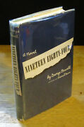 Nineteen Eighty-four 1977 George Orwell, 1984, Fine 21st Printing In Wrapper