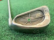 Ping Isi Green Dot Sand Wedge-s2/steel/right Handed