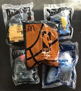 Mcdonalds Happy Meal Toys Lot Of 5 Jungle Book Finding Nemo Dory Chicken Little