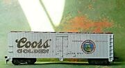 Roundhouse Beer Reefer Billboard Adolph Coors Red Ring Rd Adcx 8740 - Ho