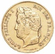 1834 France 40 Francs - World Gold Coin Louis Philippe I 2819