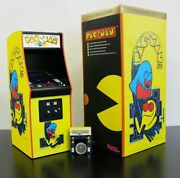 Numskull Quarter Arcade Pac-man 1/4 Scale Limited Collector's Edition W/ Coin
