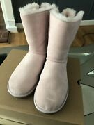 Uggs Pink Bailey Bow Size 8