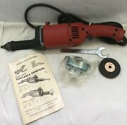 Milwaukee 5211 Heavy Duty Straight Grinder 120v 14,500rpm New/old Stock