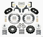 Wilwood Narrow Superlite 6r Front Hub Kit 12.88in For 59-64 Chevy Impala / 63-64
