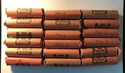 18 Lincoln Wheat Penny Cent Rolls 1940s Lot Wheat Memorial Coin 1940-1948 S Mint
