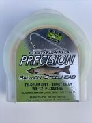 Cortland Precision Salmon Tri-color Spey Short Belly Wf12 Floating Fly Line