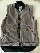 Menandrsquos Quilted Lined Duck Vest V02cht- Size Small