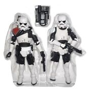 Star Wars Imperial Navy Commando And Officer 3.75 Figure Force Unleashed Tru