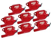 Msd Ignition Gm Ls Series Coils - 8 Ls-2/7 82878