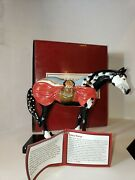 Retired 12264 Crazy Horse Westland Trail Of Painted Ponies Native Theme Horses