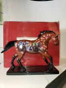 Retired 12239 Run For The Roses Westland Trail Of Painted Ponies Horses Horse