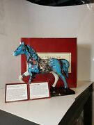 12240 Sounds Of Thunder Westland Trail Of Painted Ponies Horses Horse Pony
