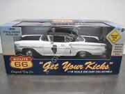 Route 66 Illinois State Police 1958 Chevy Impala Kmart Exclusive 1/18