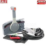 Outboard Remote Control Box Pull Throttle 703 For Yamaha Side Mount 7 Pin Cable