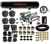 Valves 7 Switch 580 Chrome Air Compressors And Tank Air Ride Kit For 58-64 Impala