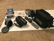 Canon Vixia Hv30 Hd Mini Dv Camcorder With Wide Angle Lens And Many Other Extras