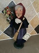 Byers Choice Caroler Old Befana 1994 With Original Tag