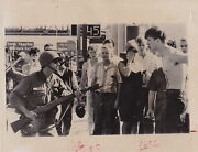 N Guard Bayonet Cuts Chest In Riots In Cicero Il Civil Rights Vintage 1967 Photo