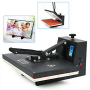 Clamshell Heat Press Machine T-shirt Sublimation Transfer Lcd Display Durable Us