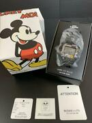 Disney Micky Mouse Ships Jet Blue Jam Home Made Collaboration Limited Watch New