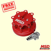 Msd Distributor Cap And Rotor Kit For Ford Bronco 1985-1995 Msd Ignition