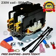 Heavy Duty 50a Contactor Pool Spa Heater Heat Pump - Ships Today Free