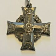 Wwi Canadian Silver Memorial Cross Cef 5th Battalion Canadian Infantry Pte Whyte
