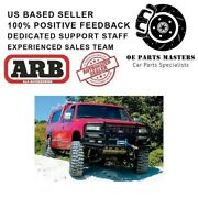 Arb Fits 1988-98 Chevrolet Classic - Air Bag Approved Deluxe Bar - 3462030