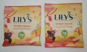 Lot Of 2 Lily's Sweets Gummy Bears 1.8oz Bags 1 G Sugar Keto Candy