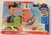 New Fisher Price Little People Wheelies Airport Toy Playset Discontinued