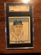 1941 Play Ball Pee Wee Reese Rc 54 Sgc 50 4 No Creases Gorgeous Card