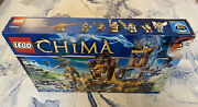 Lego Chima The Lion Chi Temple 70010 New In Open Box 100 Complete Retired