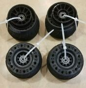 115mm Rubber Electric Skateboard Wheel And Pully Kit Onsra Evolve Boosted Exway
