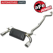 Afe 49-36334-p Mach Force-xp Cat Back Exhaust For 2016-and03920 Bmw 340i F30 440i 3.0