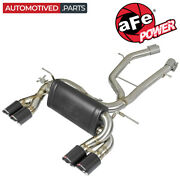 Afe 49-36338-1c Mach Force-xp Axle Back Exhaust For 2015-2020 Bmw M3 F80 M4 3.0l
