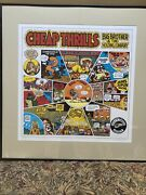R Crumb Signed Print Big Brother And The Holding Company 112 Of 250 1997